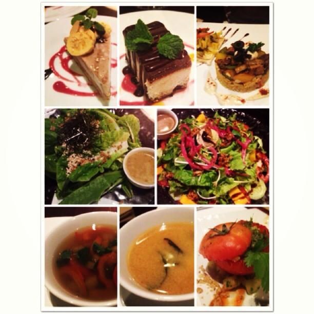 Raw food feast