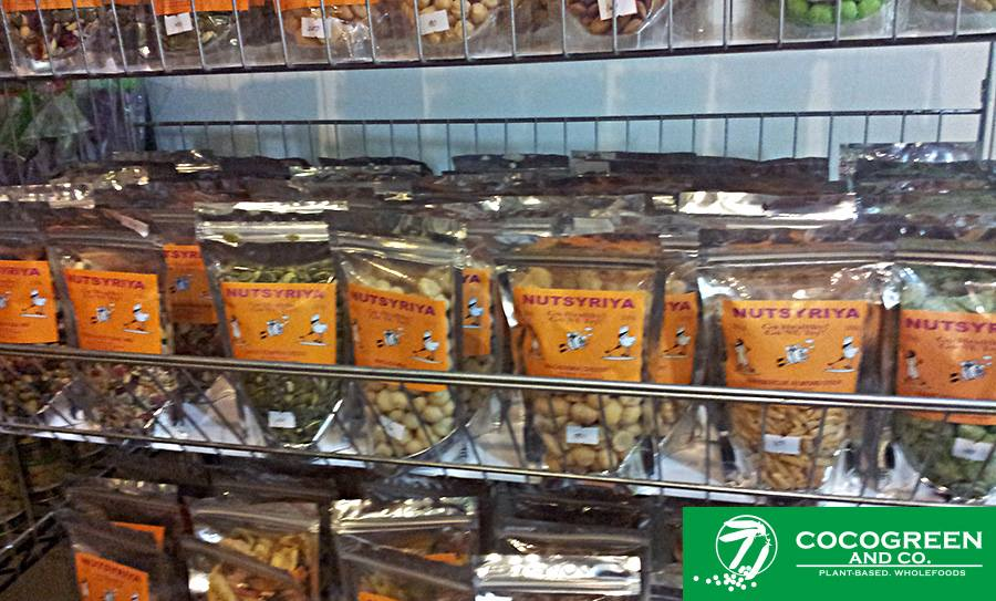 Nutrisya, natural #gourmetnuts collection