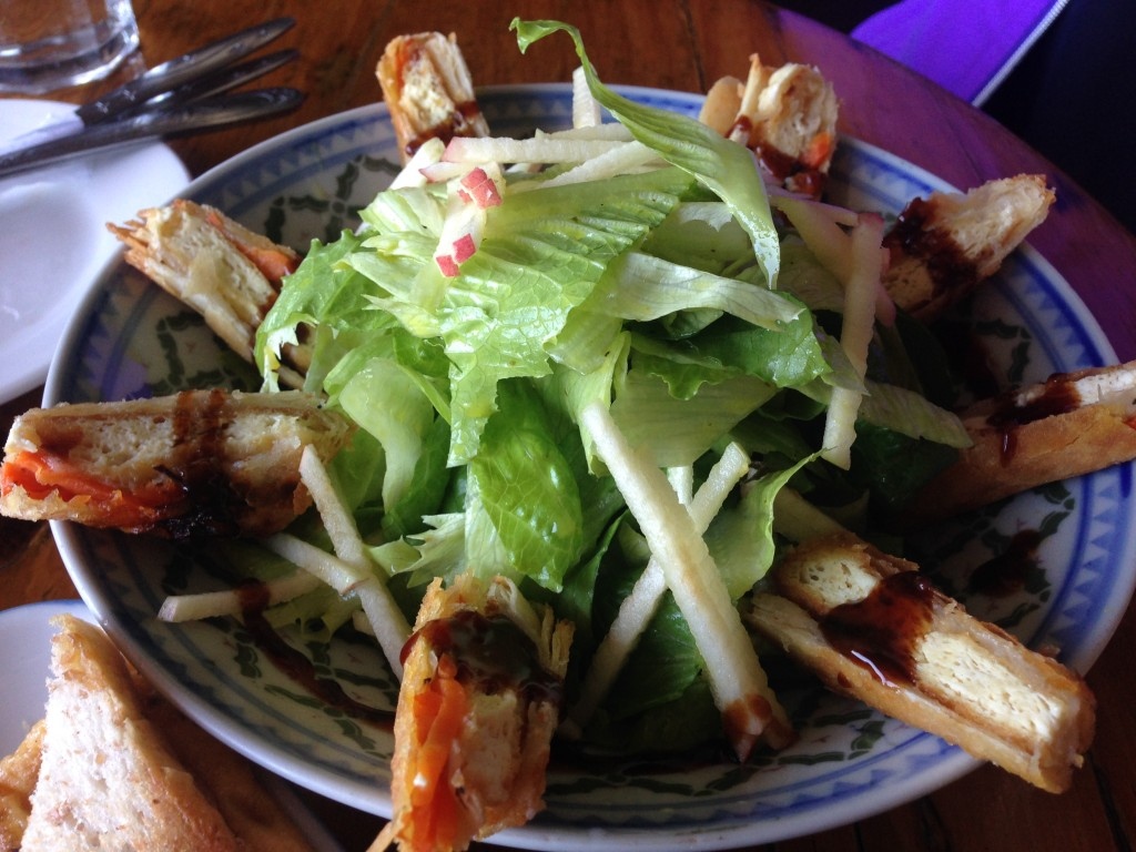 OH MY GULAY LUMPIA (SPRING ROLL) SALAD