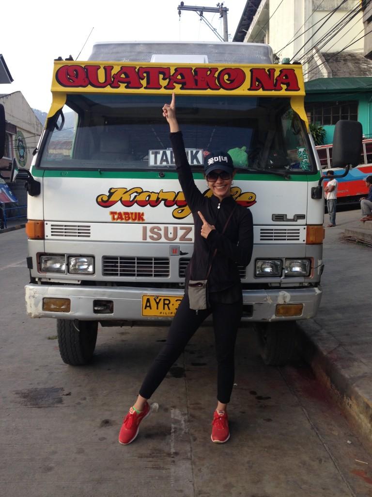 Off to Tinglayan, Kalinga via public bus