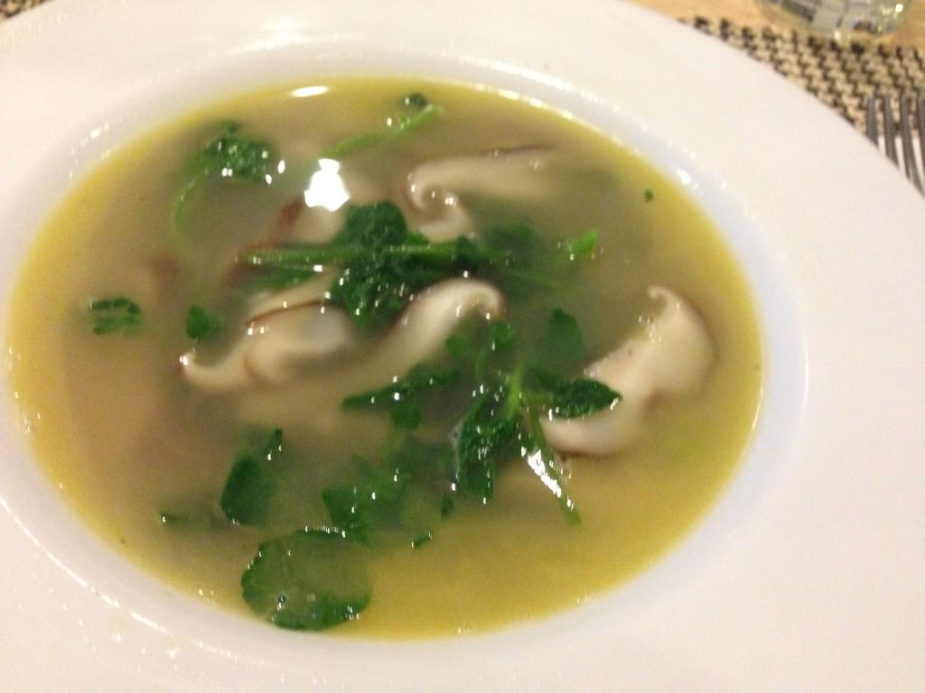 Vegetable ginger soup