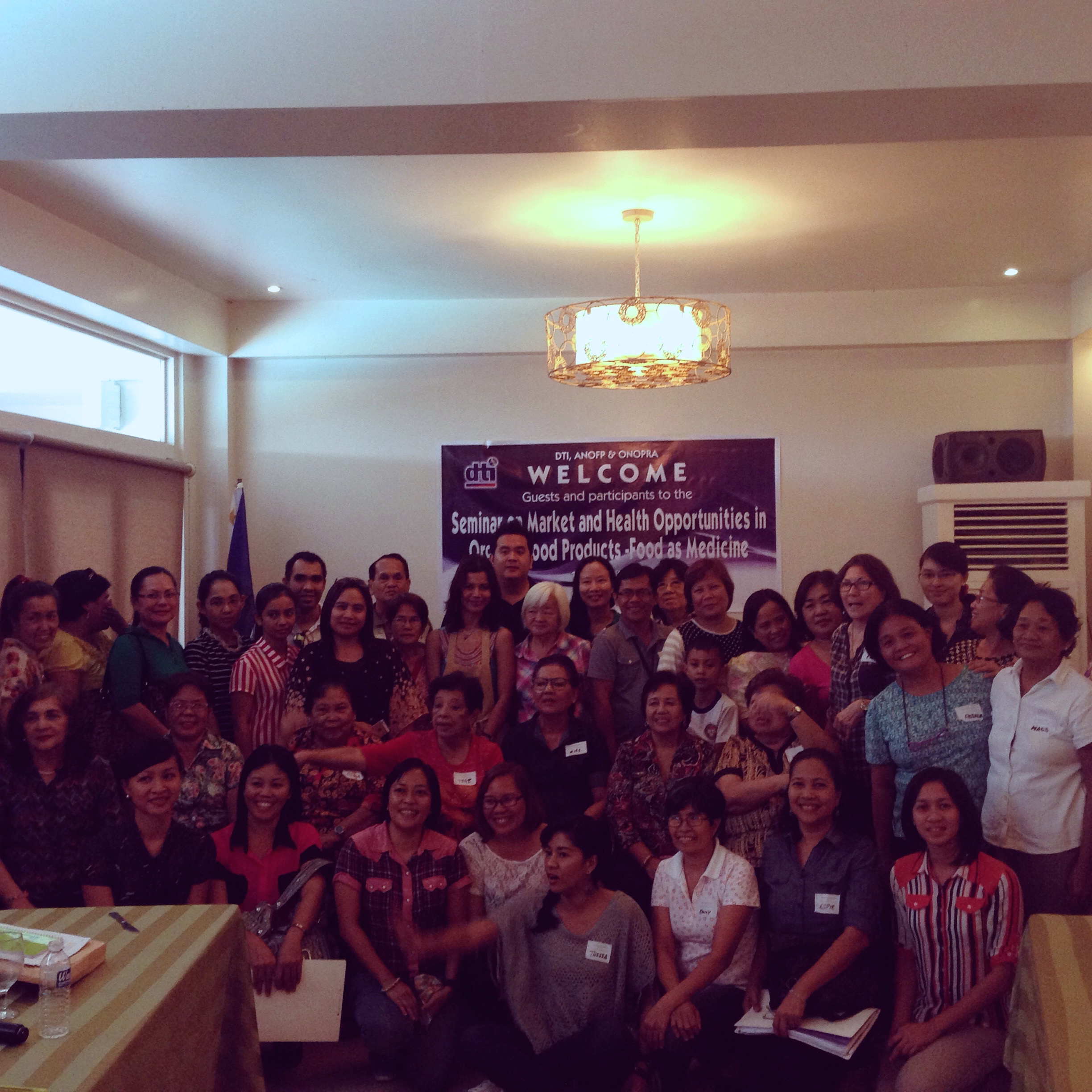 The delegates of the Plantbased nutrition convention consisted by mostly entrepreneurs and small business in the area.