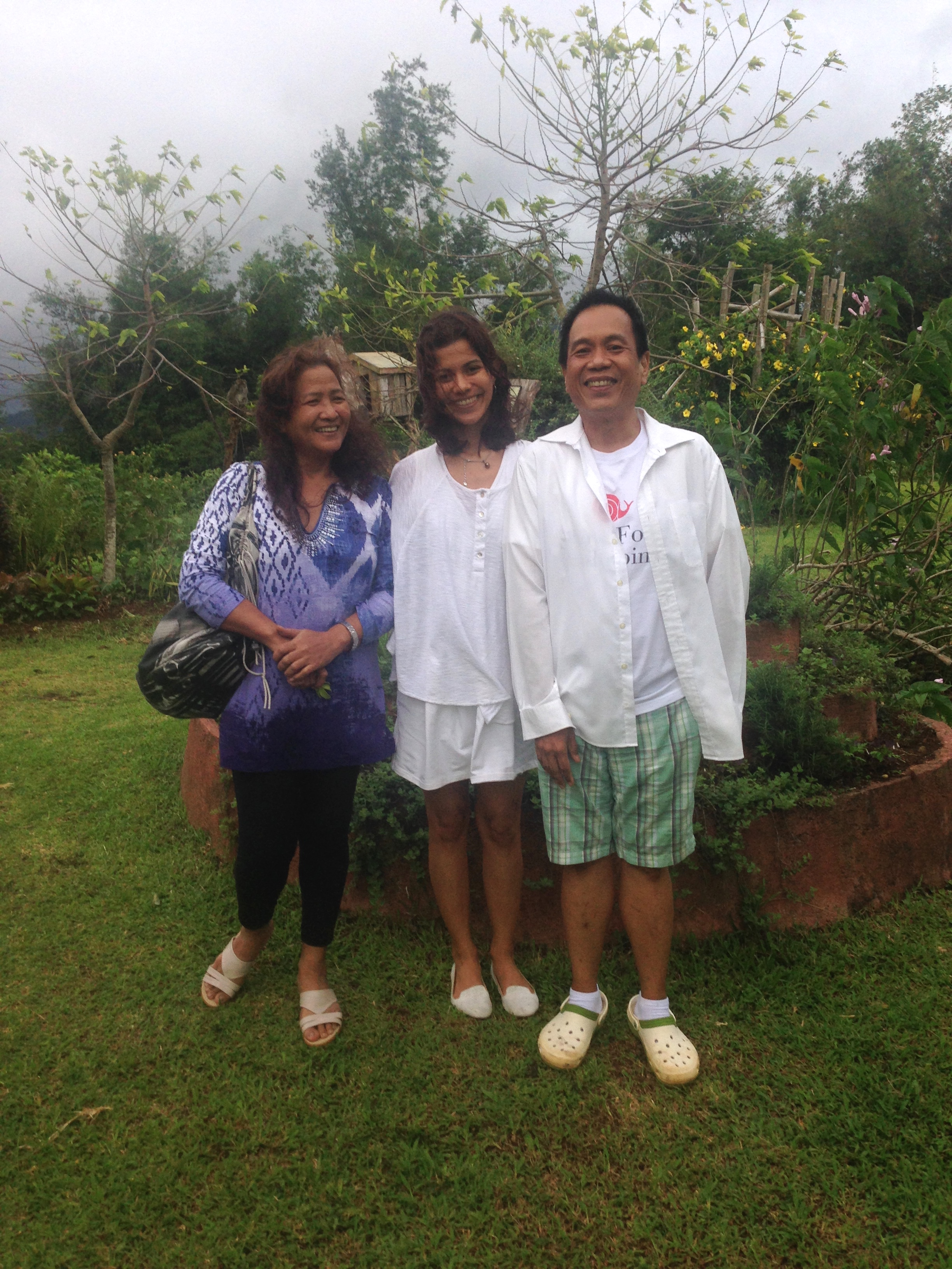 Dr, Ho my mom and yours trully